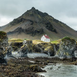 The White House, Arnastapi Harbour, Iceland