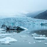 Vatnajökull Glacier at Fjallsárlón, Southern Iceland