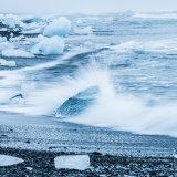 Ice Beach, Jokulsarlon, Iceland