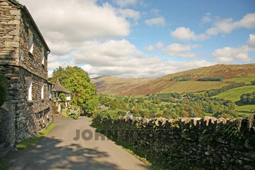 Troutbeck in the English Lake District