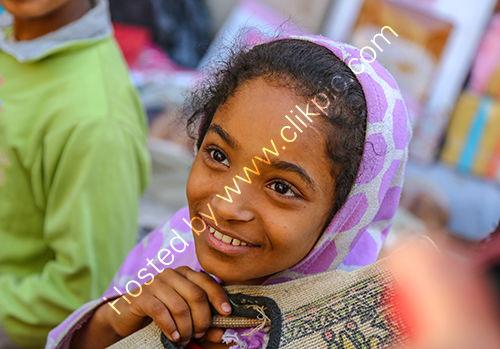 Young Egyptian girl