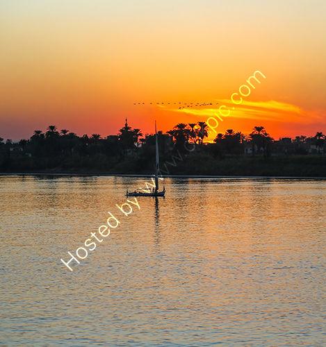A Felucca, River Nile, Egypt