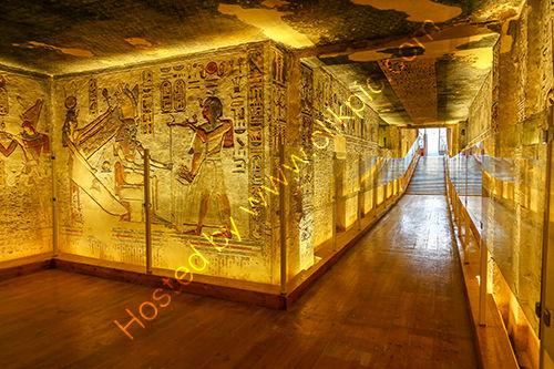 Tomb of Ramses III, Egypt