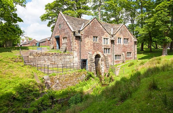 The Mill at Dunham Massey Hall Cheshire
