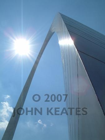 The Gateway Arch, St Louis, Missouri, USA