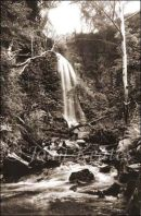 Melin Court Waterfall, Neath Valley, South Wales