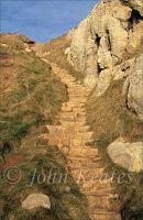 Pilgrims Steps, St Govans, Pembrokeshire, Wales