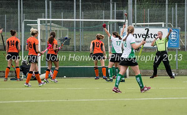 Canterbury Score against Leicester ladies