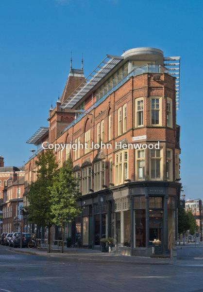 Four building, Rutland Street, Leicester