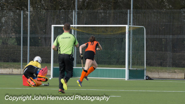 11 Katie Long scores Leicester's second goal