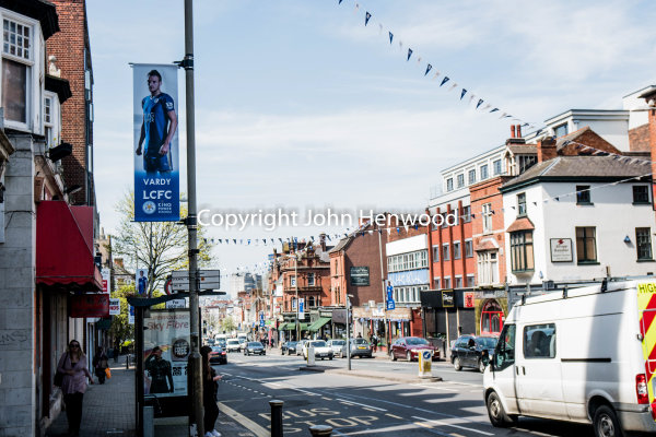 London Road Leicester Vardy