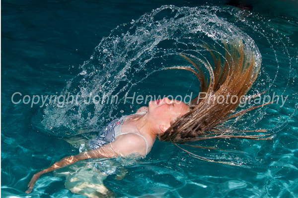 Georgina surfacing
