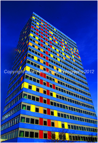 The Blue Tower, Leicester