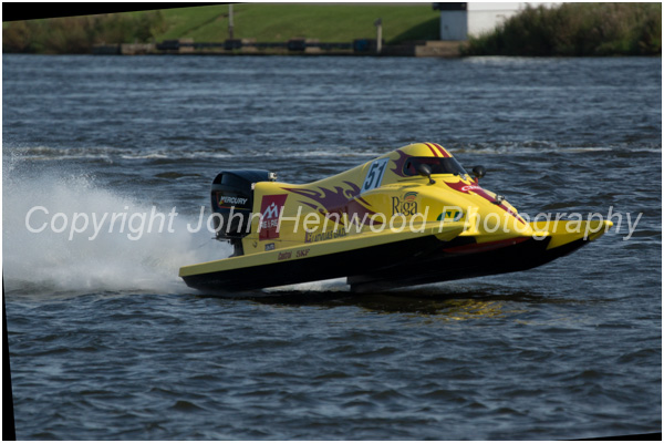 Uvis Slakteris,Latvia,Team Riga Powerboat Position 3