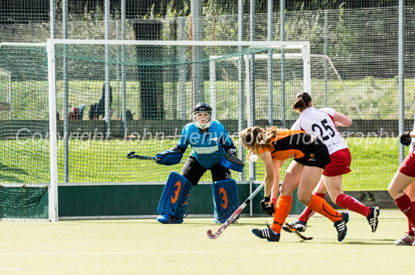 Katie Long scores the equaliser for  Leicester Vs Bowdon Hightown