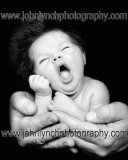 B&W Newborn Baby Photographer Kent
