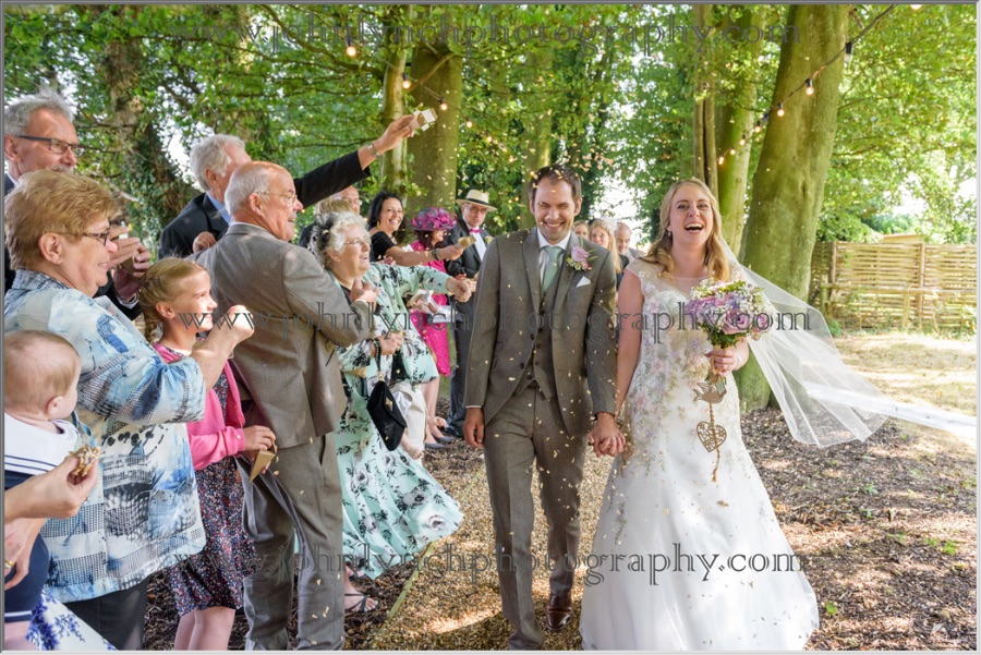 Wedding Photography at Crown Lodge Wye Downs