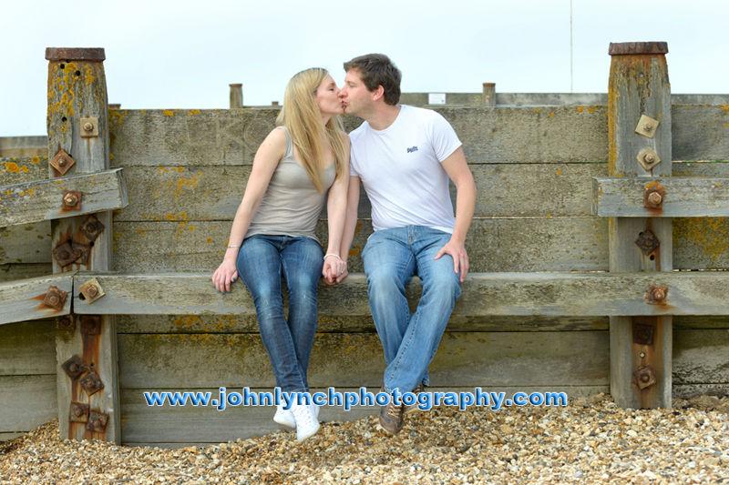 Whitstable Kent Couple Photoshoot