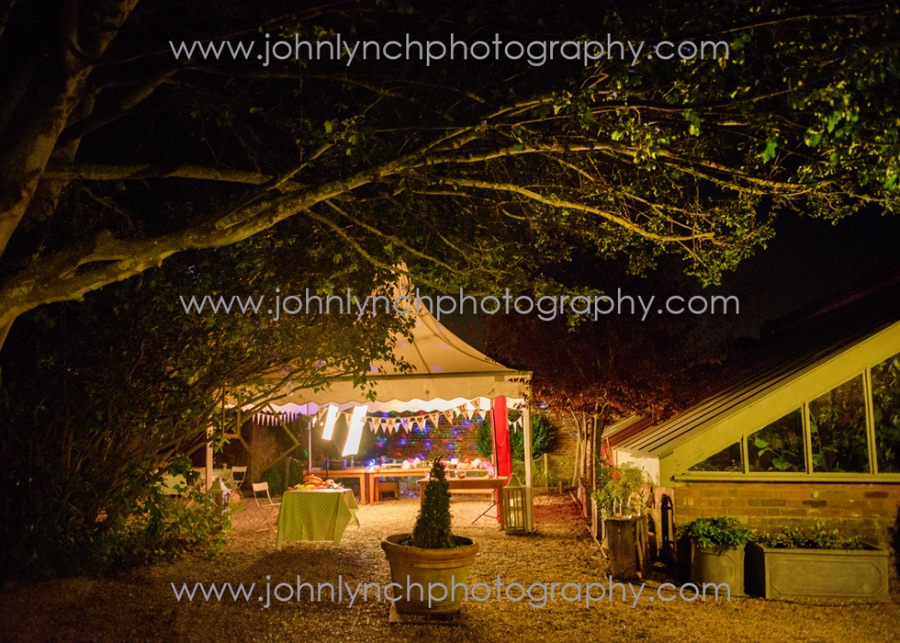 Wedding Photography at The Secret Garden Kent - PHOTOBOOTH SETUP