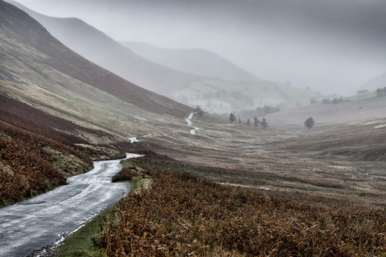 A wet day in Cumbria