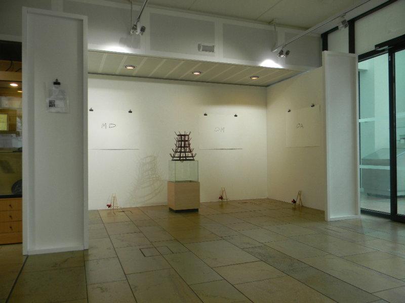 'Homage' installation shot