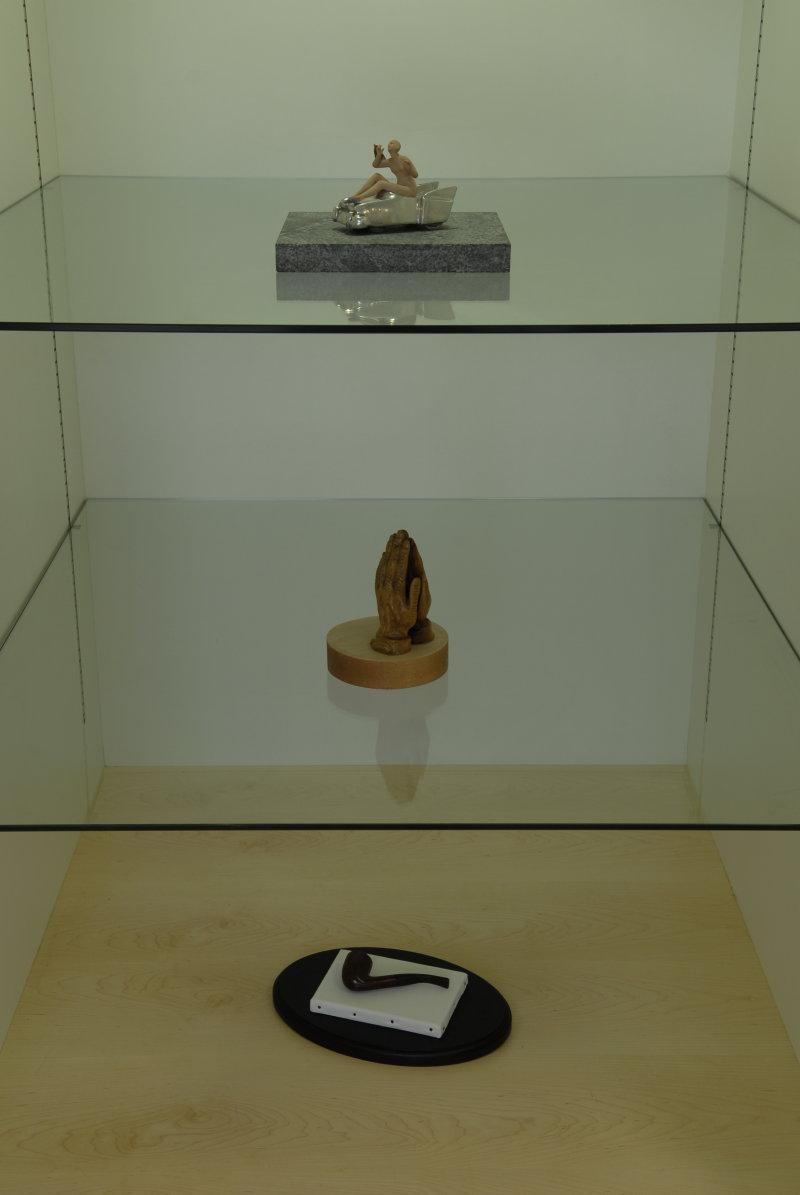 Cabinet of Curiosities. Installation shot