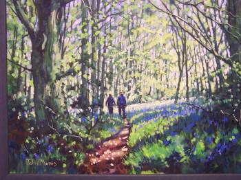 SOLD.Bluebell Wood.Moss Valley,Derbyshire