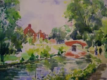 Chesterfield Canal near Thorpe Salvin