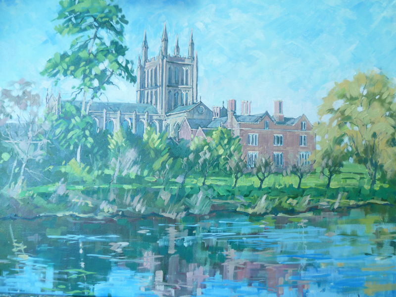 SOLD.Hereford Cathedral