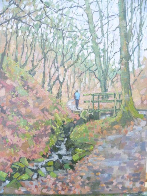Framed £80.Porter Brook,Sheffield