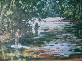 SOLD. Fishing on the Derwent