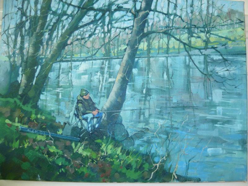 SOLD Fisherman at Graves Park,Sheffield