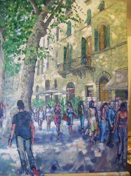 SOLD. Lucca Tuscany Italyd