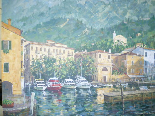 SOLD £250 Malcesine,Lake Garda, Italy