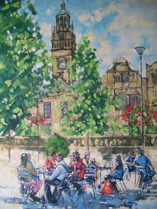 SOLD. Sheffield Town Hall