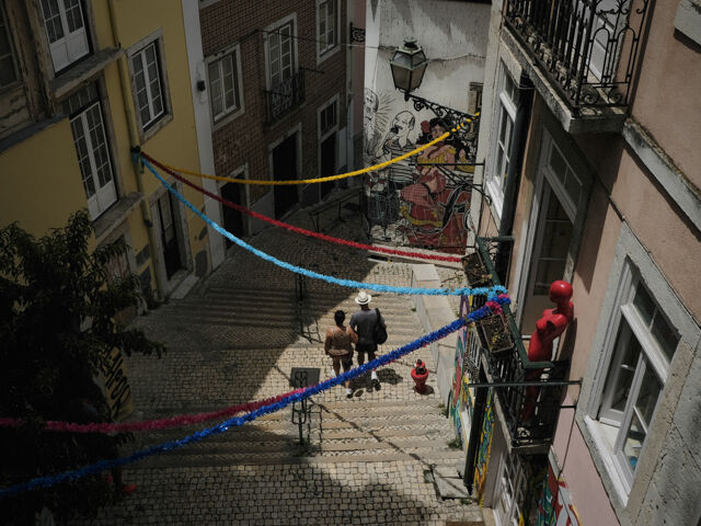 A Lisbon Backstreet