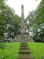 The Battle Obelisk at Naseby