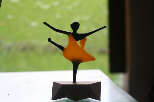 Dancer orange