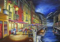 Venice by Moonlight (for sale £400)