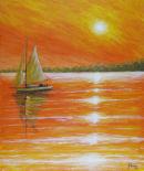 Orange Sunset (for sale £200)