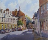Colegate, Norwich. Looking towards Merchants of Spice.