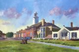 St Jame's Green, Southwold (Acrylic)
