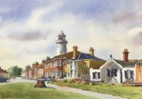 St Jame's Green, Southwold (Watercolour) (SOLD)