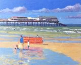 Cromer Beach, Norfolk (Acrylic)