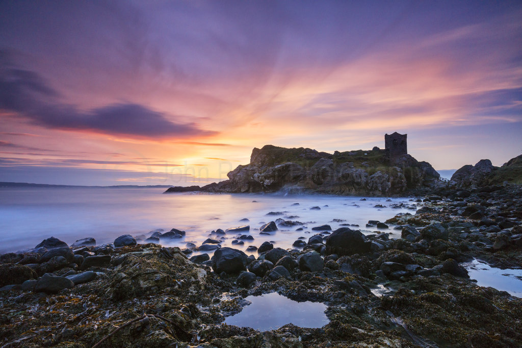 0249 Kinbane Castle Sunrise