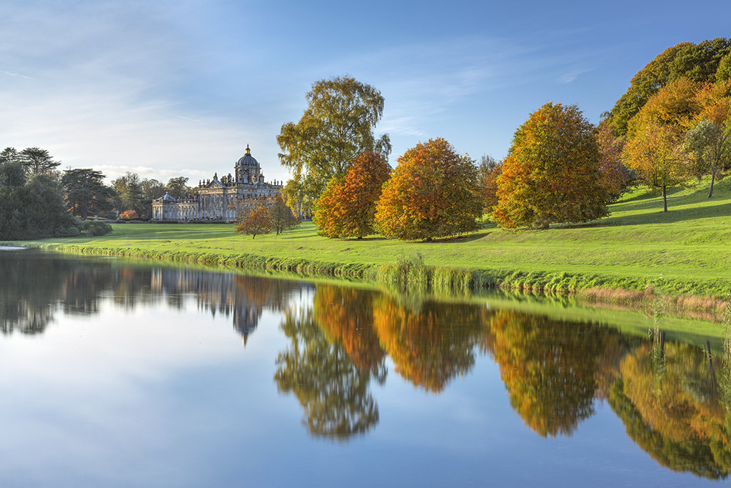 0716 Autumn Reflections at Castle Howard