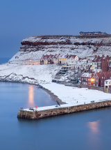 1419 Whitby Winter Twilight