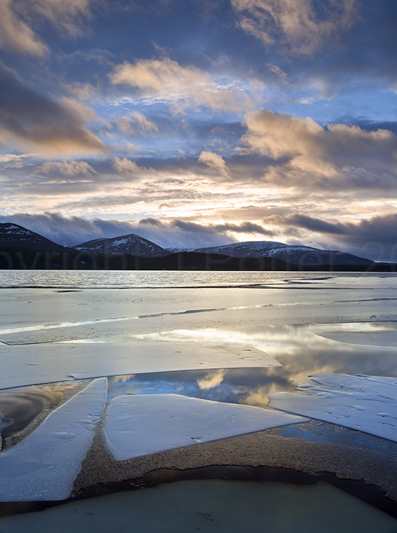 3716 Loch Morlich Sunset The Cairngorms