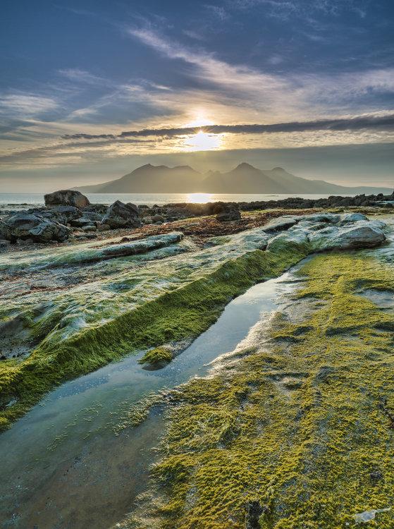 6872 Laig Bay Sunset Isle of Eigg