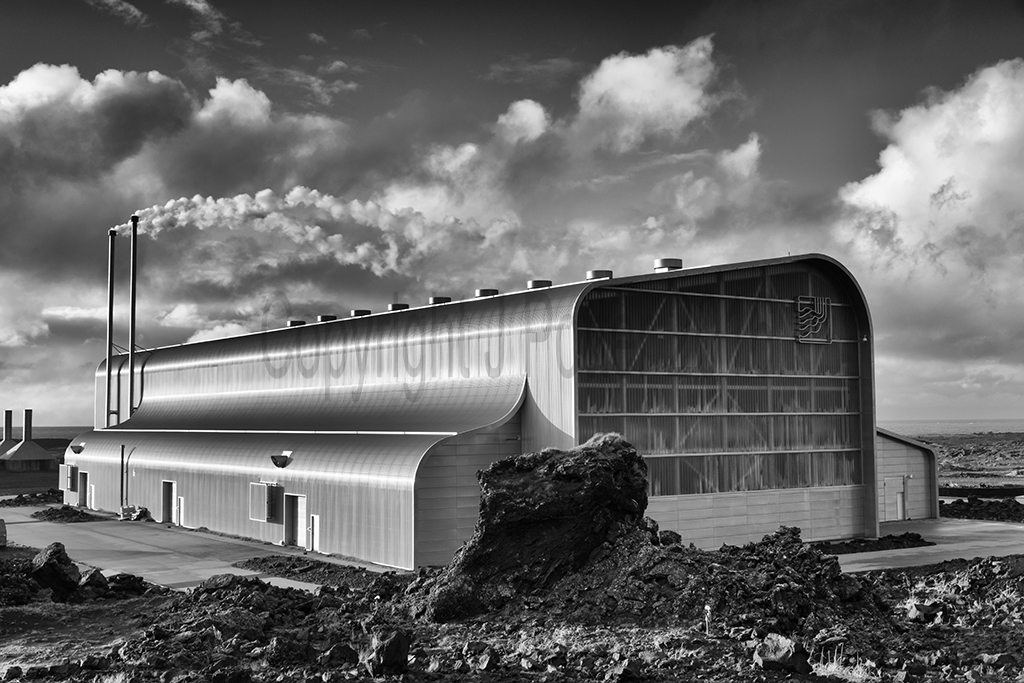 8867 Reykjanes Geothermal Power Plant: John Potter Photography